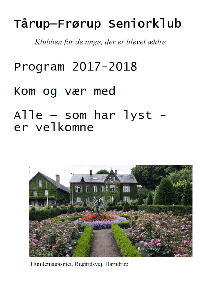 Program 2017-18 - Seniorklubben