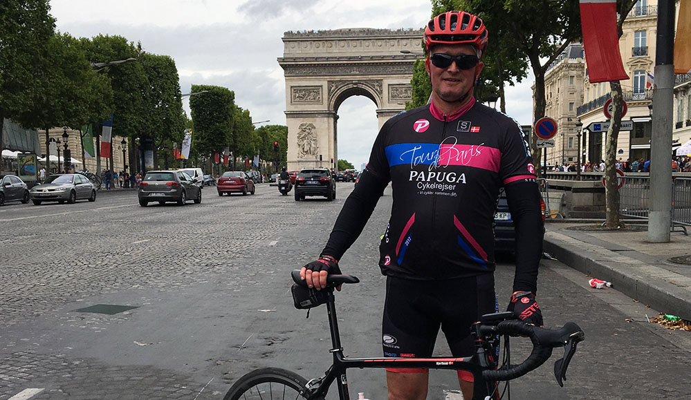 Tour de Paris - dag 1