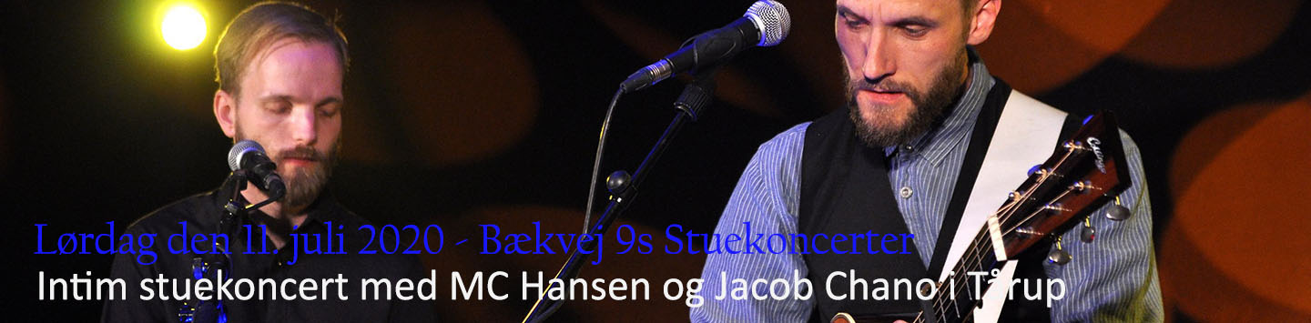 MC Hansen og Jacob Chano